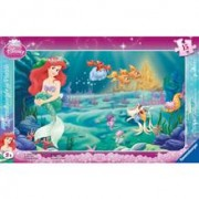 Puzzle Printesa Ariel, 15 Piese