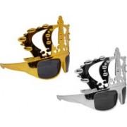 GLAN Rectangular Sunglasses(For Boys & Girls)