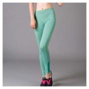 Las Mujeres Leggings Mallas De Fitness Gimnasio De Yoga Pantalones De Deporte En Ejecución - Verde