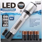 Feit Electric Submersible Flashlight 1000 Lumens Led Torch Water Resistant