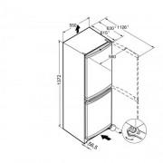 GARANTIE 4 ANI Combina frigorifica Liebherr, Comfort, clasa A++, SmartFrost, inox look CUel 2331