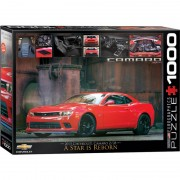 Eurographics Puzzle 1000 piese 2015 Chevrolet Camaro Z/28 A Star is Reborn