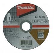 Disc abraziv pentru taiere otel inoxidabil MAKITA B-12239, 125mm