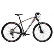 """Bicicleta Mountain Bike Devron RIDDLE R7.7, Roti 27.5"""", Frana hidraulica pe disc, Cadru M - 457mm (Albastru)"""