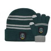 Cinereplicas Harry Potter - Slytherin Beanie & Gloves Set for Kids