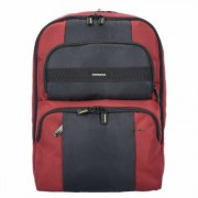 Samsonite Infinipak Sicherheits Rucksack 44 cm Laptopfach red black