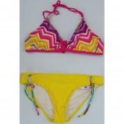 Bikini 2 Piezas Color Amarillo Stilo TXL6