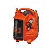 Compresor Black+Decker fara ulei 5L 1,5HP 1,1Kw 8bar 116PSI - BD 195/5-MY