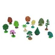 Wild Republic Tube of Tree Figurines