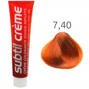 Subtil - Color - Crème Rouge Reflets - 7.40 Blond Koper Intensief - 60 ml
