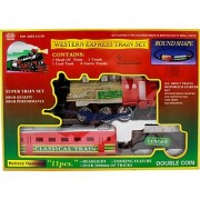 Lovely Western Express Train Set (Multicolor)