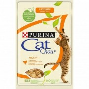 Purina Cat Chow Adult Bocconcini in Gelatina con Pollo e Zucchine Bustina 85 g