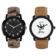 New Lorem Army With King Latest Designing Stylist Professional Analog Brown Watch For Men Boys
