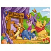 Puzzle 60 piezas Winnie Pooh la Casa - Clementoni