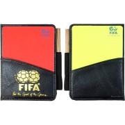 Cartonase de arbitru galben si rosu FIFA