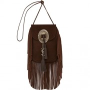 Anita Fringed Flat Bag