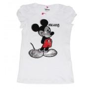 Tricou Mickey F alb