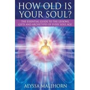 How Old Is Your Soul': The Essential Guide to the Lessons, Gifts and Archetypes of Every Soul Age, Paperback/Alyssa Malehorn