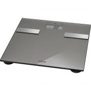 AEG PW 5644 - Báscula de análisis corporal de 7 funciones, de cristal y acero inoxidable, color titanio