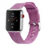 Apple Watch 42/44mm Canvas bandje - Paars