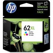 Cartucho de Tinta HP 62XL-Tricolor