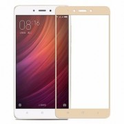3D Curved Edge-To-Edge Full Screen Coverage Protector Tempered Glass For Redmi Note 4 (Gold)