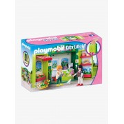 """Playmobil 5639 Maleta """"Loja de Flores"""", da Playmobil verde medio liso com motivo"""