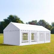 TOOLPORT Partytent 4x8m PVC 500 g/m² wit waterdicht Gartenzelt, Festzelt, Pavillon