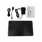 Enchufe De EE.UU. De 9 Pulgadas Tablet WIFI Allwinner A33 512 +8G 0.3MP Cámara Trasera Delantera Pad Negro