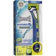 Wilkinson Sword Hydro 5 Groomer Blauw, Groen scheerapparaat voor mannen