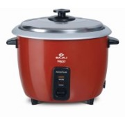 Bajaj RCX18 PLUS Electric Rice Cooker(1.8 L, Red)