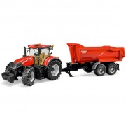Bruder Tractor with Trailer Case IH Optum 300 CVX 1:16 03199