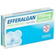 Bristol-Myers Squibb Srl Efferalgan Prima Infanzia 150 Mg Supposte 10 Supposte