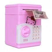 Mini Piggy Bank Safe Box Money Coin Atm Bank Toy Atm Machine Kids Gift Money Box Digital Saving Boxes