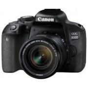 EOS 800D + EF-S 18-55mm 4.0-5.6 IS STM 24.2MP 6000 x 4000pixels Noir