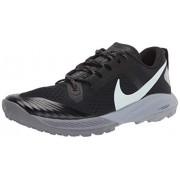 Nike Air Zoom Terra Kiger 5--001 Tenis para Correr para Hombre, Color Black/Barely Grey-Gunsmoke-Wolf Grey, 9