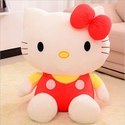 Hello Kitty Plush Toy Stuffed Soft Toy Red 20cm
