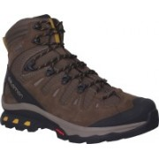 Salomon Quest 4D 3 Waterproof Hiking & Trekking Shoes For Men(Brown, Black)