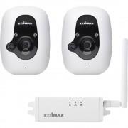 WLAN IP-Set sigurnosne kamere S 2 kamere 640 x 480 piksel EDIMAX IC-3210WK