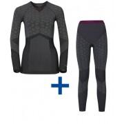 Odlo Blackcomb Evolution Unterwäsche-SET Shirt+Hose