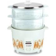Panasonic SR-WA18H(SSG) Electric Rice Cooker(4.4 L, White)
