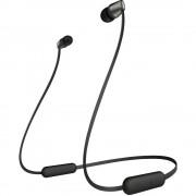 Sony WI-C310 Bluetooth® in ear slušalice u ušima kontrola glasnoće, slušalice s mikrofonom crna