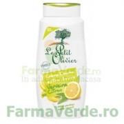 Gel de dus cremos cu extracte de verbina si lamaie FPO34 Le Petit Olivier Cosmetica Verde