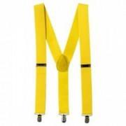 Bretele Suspenders galben VIVO