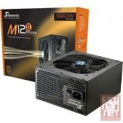 Seasonic M12II-520Bronze, 520W, full modular, 12cm fan, EPS/Active PFC/80Plus Bronze (SS-520GM2)
