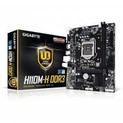 Tarjeta Madre Gigabyte Micro ATX GA-H110M-H S-1151 HDMI USB 3.0 32GB DDR3 Para Intel
