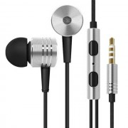 Maxy Mi Auricolare A Filo Stereo Super Bass Headphone In-Ear Jack 3,5mm Universale Silver Per Modelli A Marchio Huawei
