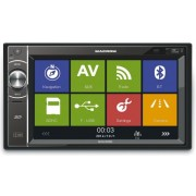 "Player DVD auto Macrom M-DL5000, 4x45W, Touchscreen 6.2"", USB, Bluetooth, Navigatie GPS"