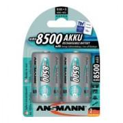 ANSMANN Batterie d´accumulateur maxE 1,2 V 8500 mAh R20-D-Mono HR20 2 2pces/blister ANSM