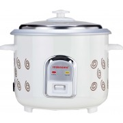 SOWBAGHYA ERC02 Electric Rice Cooker with Steaming Feature(1.8 L, White)